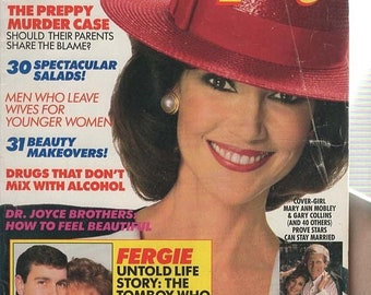Good Housekeeping Magazine July 1988  Fergie, Dr. Brothers, Most Stolen Cars, Spectacular Salads