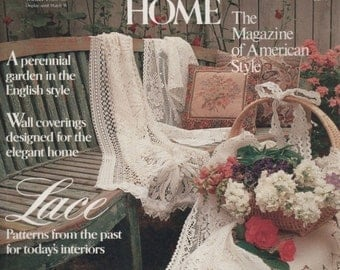 Traditional Home BHG Magazine Winter 1987/88 The Magazine of American Style