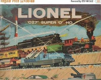 "Lionel '027' Super ""O"" Ho Catalog Copyright 1959 The Lionel Corporation 56 Pages"