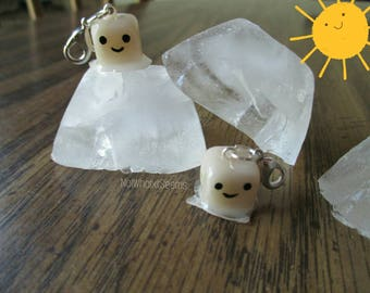Melting Ice Cube Planner Charm