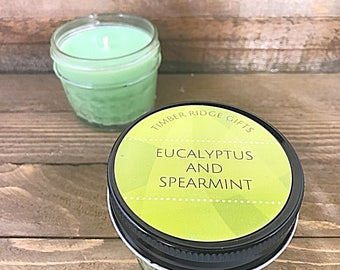 Aromatherapy Candle - Aromatherapy - Relaxation Gifts - Handmade Candles - Hand Poured Candles - Mason Jar Candles - Container Candles