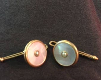 1940's Mother of Pearl buttons