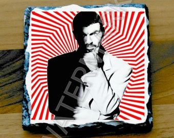 George Michael Printed Mug Coaster Coasters . Wham