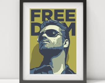 george michael, george michael poster, george michael art-print, music poster, 80's, pop star, pop art, quote poster, british pop legend