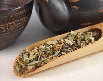 Welsh Hedgerow, Loose leaf Herbal blend, 75g caddy, elderflower tea, linden leaves, rosehip, nettle, raspberry leaf, tea caddy