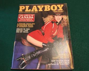 Playboy Magazine October 1980