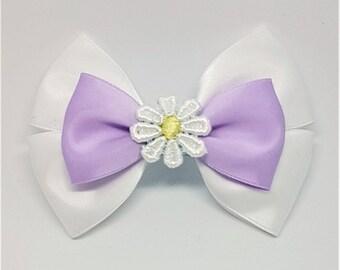 Daisy Duck Bow | Daisy Duck Inspired | Daisy Duck Hair Bow | Disney Inspired Hair Bow