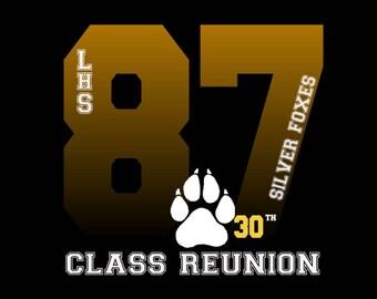 Class Reunion Shirt Etsy