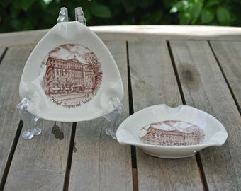 Hotel Imperial Wien Ashtrays - 1960's Vintage