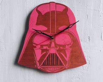Star Wars gift for him Empire Strikes Back wood Clock print star wars kitchen decor star wars sign star wars office first order stormtrooper