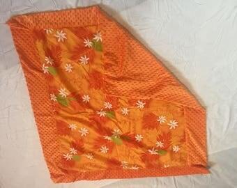 Mindy blanket with aloha print
