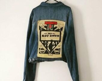 The Get Down Custom Made Denim Jacket