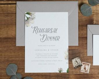Wedding Rehearsal Dinner Printable, Rehearsal Dinner Invitation Template, DIY Rehearsal Dinner Invite Template Instant Download - KPC05_503