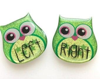 Medium Green Holo-Owl