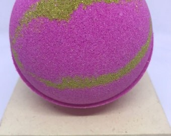 Pink Orchid Bath Bomb, 5 Sizes to choose from, with free shipping in US!!