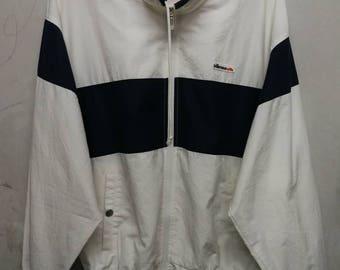 Vintage 90s Ellesse zipper wind breaker M