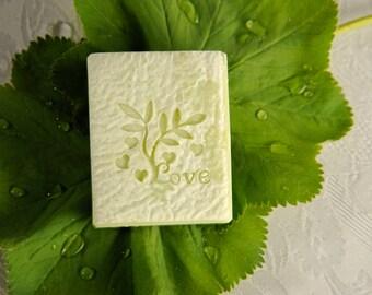 Handmade Soap with Shea Butter - Wasabi Fragrance