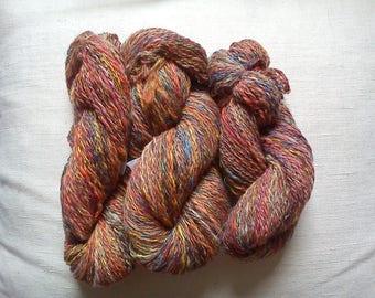 "TWEED ""RAINBOW"" hand-spun yarn"