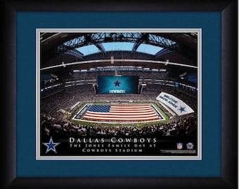 Dallas Cowboys Personalized Stadium Print - NFL Gift - NFL Item