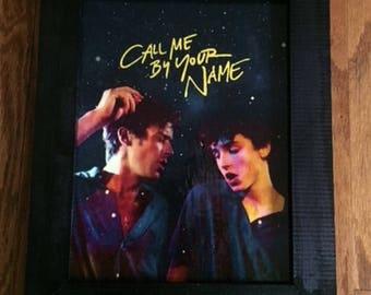 Call Me By Your Name, Call Me By Your Name Wall Art, Call Me By Your Name Art, Gay Pride, Gay Art, Gay Gifts, Gay Pride Art