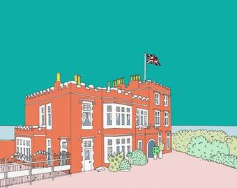 Bleak House Broadstairs - Blue
