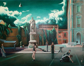 THE cult - surreal painting