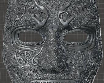 Death Eater Mask - 3d Model -STL