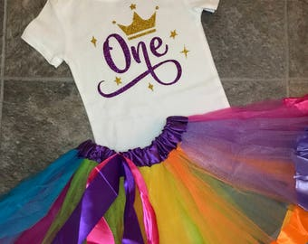 First Birthday, Girl's First Birthday, 1st Birthday, Toddler Birthday, Girl Birthday Shirt, Glitter, Girls Glitter Birthday Outfit, Toddler
