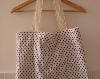 Tote bag lined
