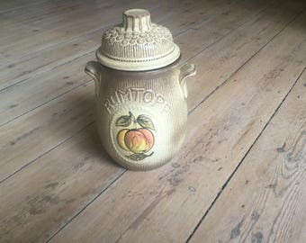 West German vintage Rumtopf Jar