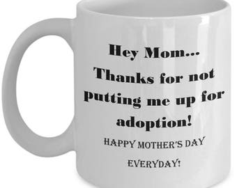 Funny Heartfelt Coffee Tea Mug for Mom