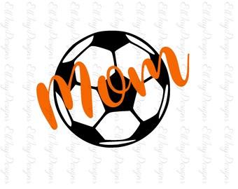 Soccer Mom Svg, Soccer ball svg, Soccer, Soccer Monogram svg, soccer ball, soccer circle mongram, silhouette, soccer silhouette cut files