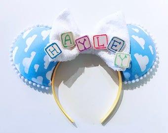 Toy Story Monogram Ears