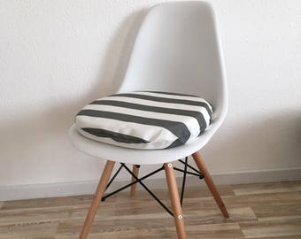 6cm or 3 cm cushion handmade for Eames Chair with zipper