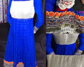 Blue Ethnic dress ( as is )