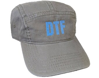 DTF Custom Embroidered Camper Hat