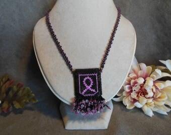 Black w/ Pink amulet Pouch