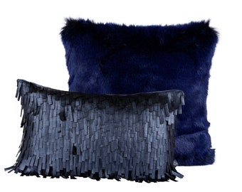 Combine Pillows (imitation fur&leather)