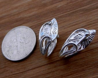 Luxury, Sterling Silver, Pinch Bail, for, Pendant