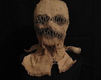 "Mask Scarecrow ""Mummy"", horror, halloween, masquerade, free shipping"