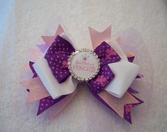 Birthday Princess Hair Clip