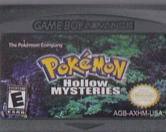 Gameboy Advance Game Boy GBA Pokemon Hollow Mysteries Customized
