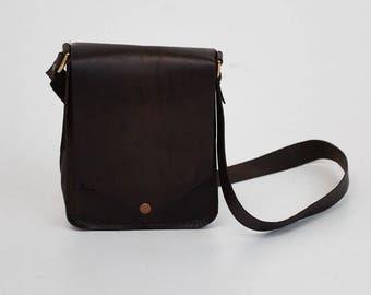 Shoulder Bag - Leather Purse - Boho Purse - Leather Handbag - Leather Pouch - Brown Tote - Leather Pouch- Fringe Bag - Leather Bag - Gift
