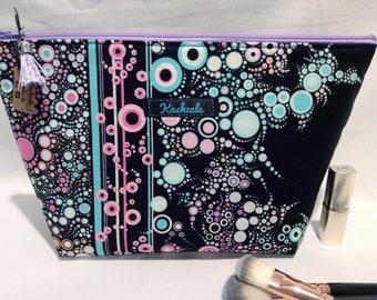 Large Make up Bag, Large Makeup Bag, Large Toiletry Bag Cosmetic Bag, Travel Bag, zipper Pouch, Pencil Case, Make up Storage, Black.
