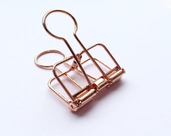 Staples Rose Gold 2 x 4 cm