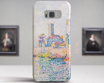 "Paul Signac, ""Antibes, the Towers"". Samsung Galaxy Note 8 Case Google Pixel XL Case LG G6 case Galaxy A3 2017 Case and more."