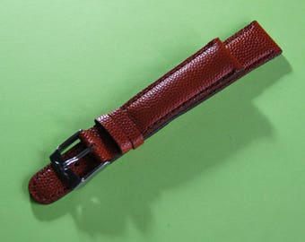 SECTOR brand 18 mm genuine leather watchband