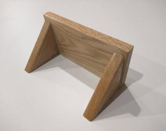 8 inch Red Oak Shelf Simple Shelf with Concealed Screws