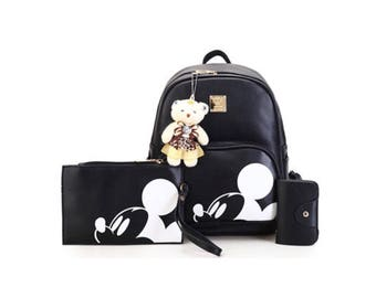 Mickey Backpack Set