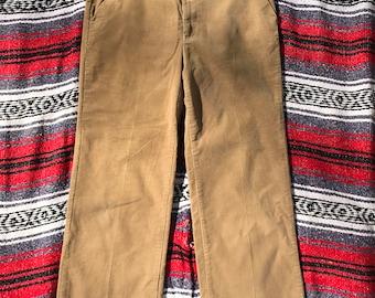 Sears Fieldmaster Corduroy Pants Khaki